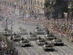 ウクライナ独立記念パレード